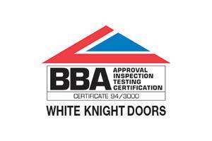 BBA White Knight Doors